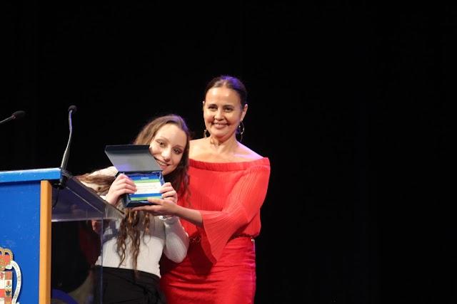 Sandra Gasquet Callejón \'Premio Gitana del Año\'.