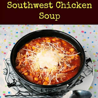 Skinny Slow Cooker Southwest Chicken Soup.