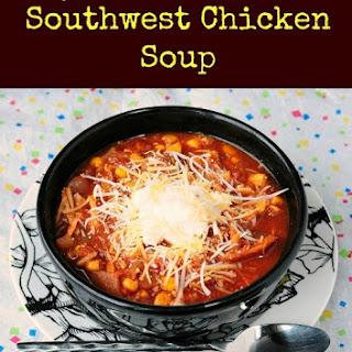 Skinny Slow Cooker Southwest Chicken Soup.