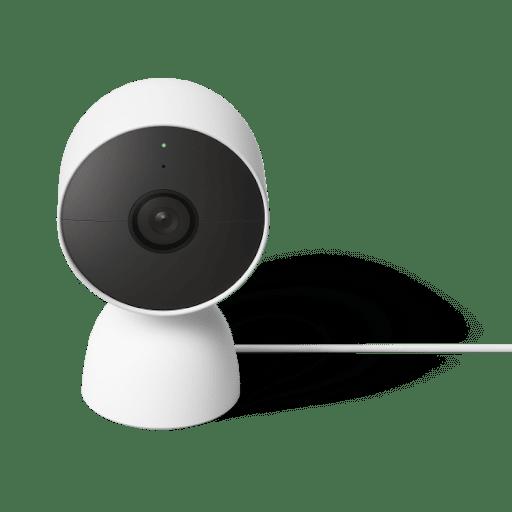 Google Nest Cam と Google Nest Cam スタンドの画像