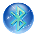 Bluetooth App Share and backup icon