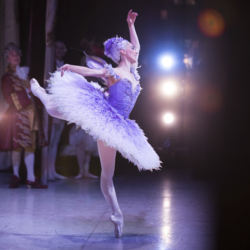 Amy Harris as the Lilac Fairy in David McAllister's The Sleeping Beauty
