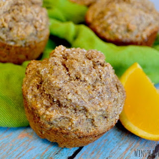 Healthy Whole Wheat Orange Muffins Recipe