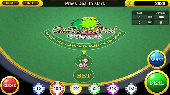 online casino app caribbean stud