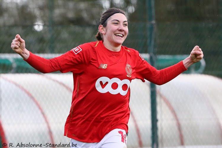 Super League: le Standard Femina solide dauphin d'Anderlecht
