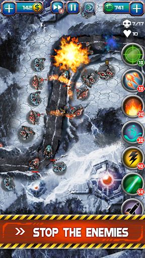Galaxy Defense 2 (Tower Defense Games) - screenshot