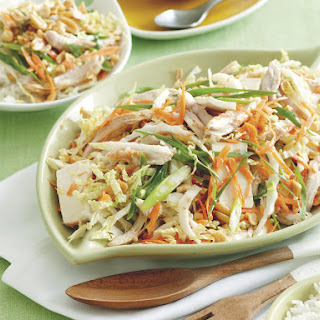 Vietnamese-Style Chicken and Tofu Salad.