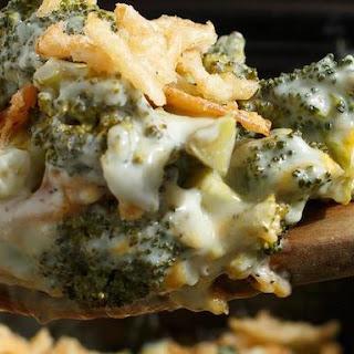 Slow Cooker Cheesy Broccoli Casserole Recipe