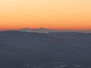 Photo: Połonina Wetlińska - Tatry widziane z odległości 180 km w linii prostej