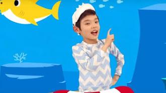 Gran éxito de la canción infantil Baby Shark.