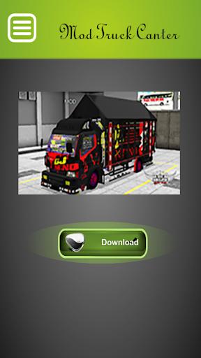 Mod Truck Canter Bussid Indonesia Update 2.0 screenshots 3