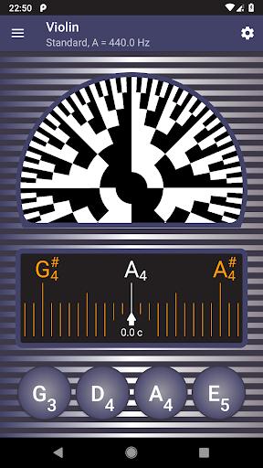 Strobe Guitar Tuner Pro screenshot 2