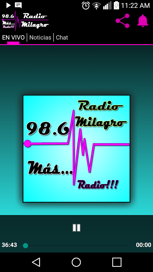 Radio Milagro 98.6 FM- screenshot