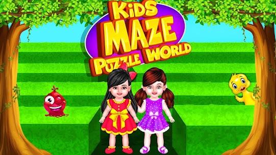 Kids Mazes : Educational Game Puzzle World 8