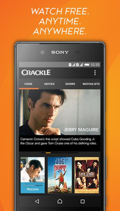 Crackle - Free TV & Movies screenshot #1