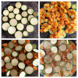 Sweet Potato Zucchini Frittata