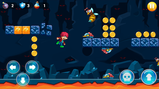 Super boy - Super World - adventure run- screenshot thumbnail