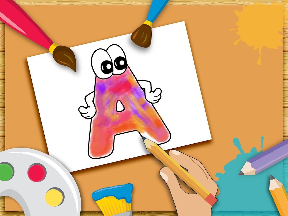 ABC Coloring Book For Kids Screenshot