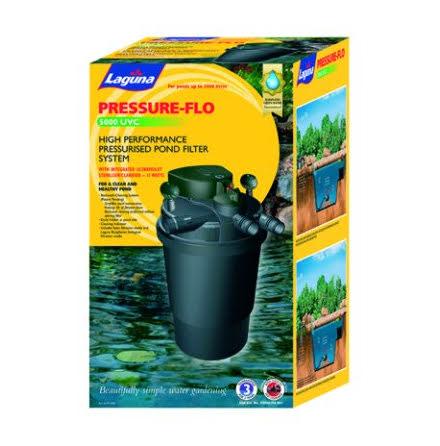 Laguna Pressure-Flo 5000 Dammfilter UV-C
