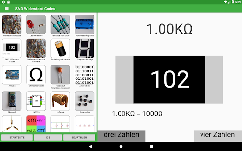 Electronics Toolkit Screenshot