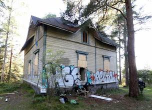 Photo: Villa Hällebo - parhaiten säilynyt (?!) kierroksemme huviloista