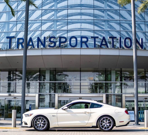 2015 Ford 50th Anniversary Mustang Limited Edition Hire CA