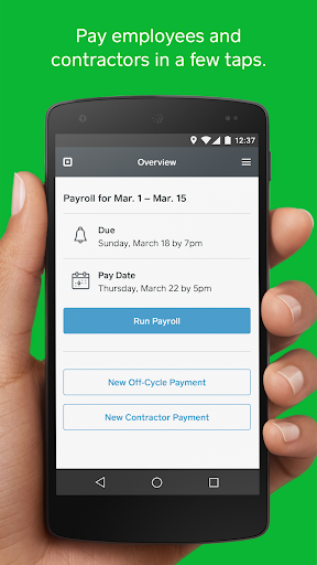 Square Payroll Business app for Android Preview 1
