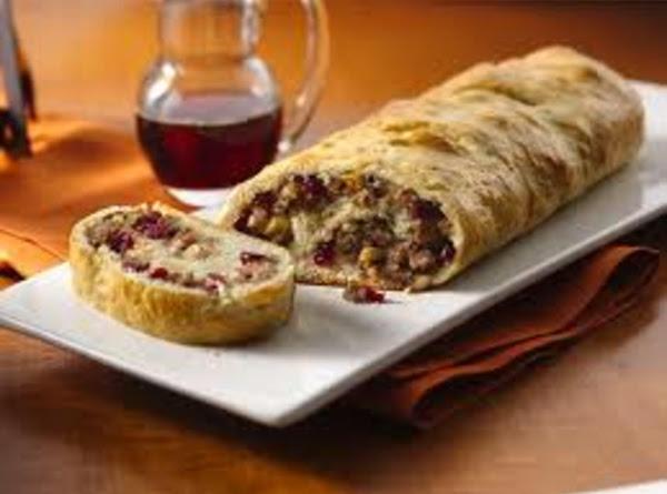 Elegant Sausage Apple Cheddar Loaf Recipe