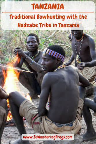 Traditional Bowhunting with the #Hadzabe #Tribe in #Tanzania // #AdventureTravel from Ze Wandering Frogs