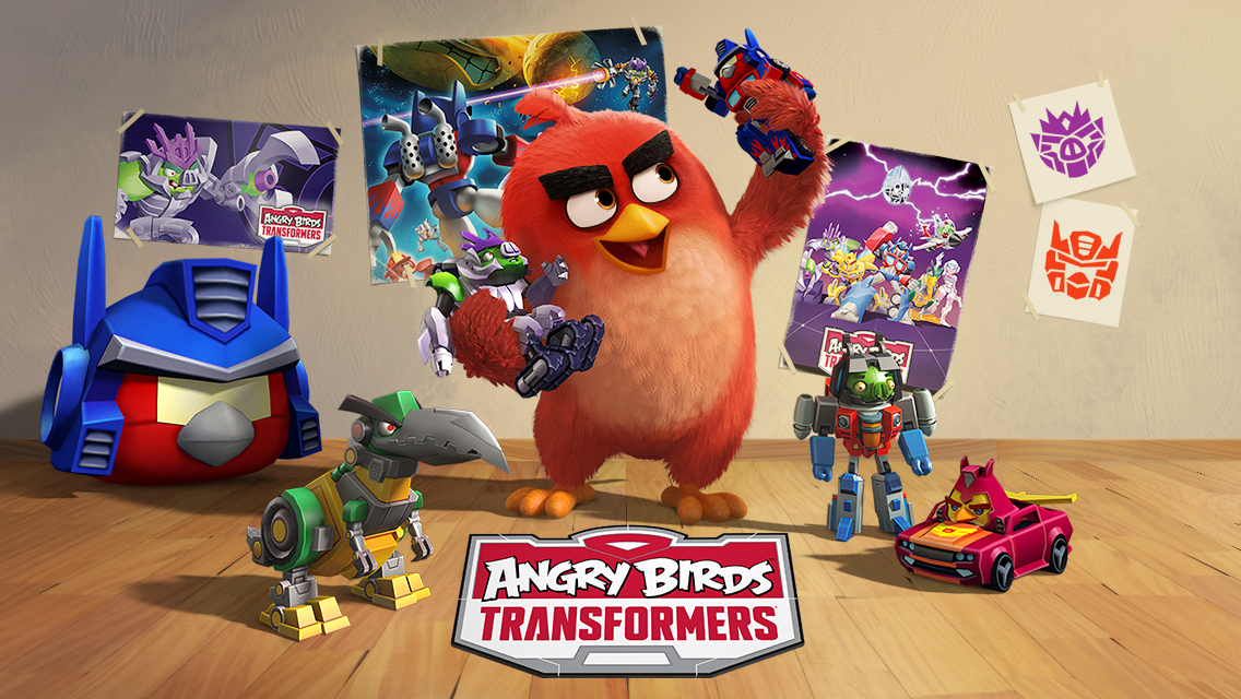 Download Angry Birds Transformers v1.17.6 Full Game Apk