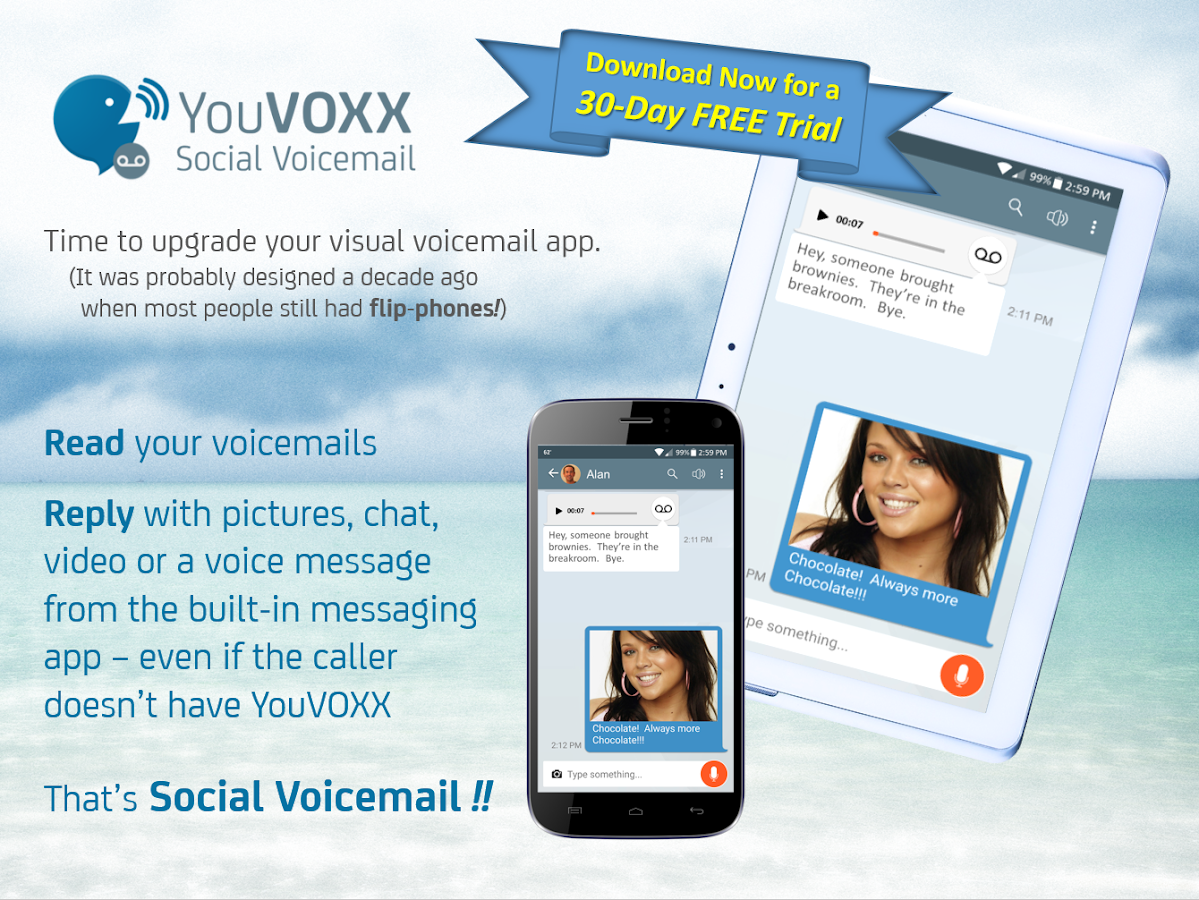 YouVOXX Social Voicemail- screenshot