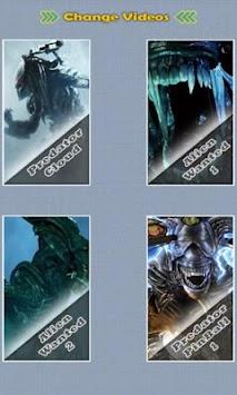 Alien Predator Live Wallpaper Poster