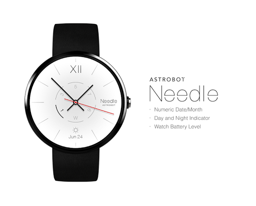 Needle watchface by Astrobot