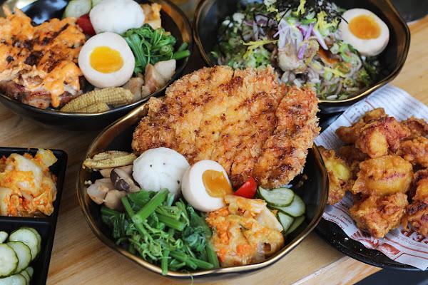 拿筷THEQUIET-品項豐富特色丼飯,冷麵適合夏天超開胃