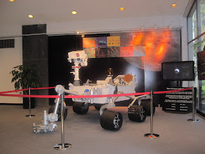 Photo: Mars Rover mockup