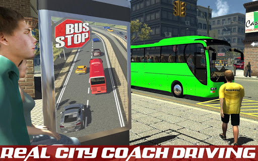 coach bus driver simulator 3d screenshot 2