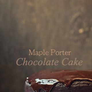 Maple Porter & Chocolate Bundt Cake