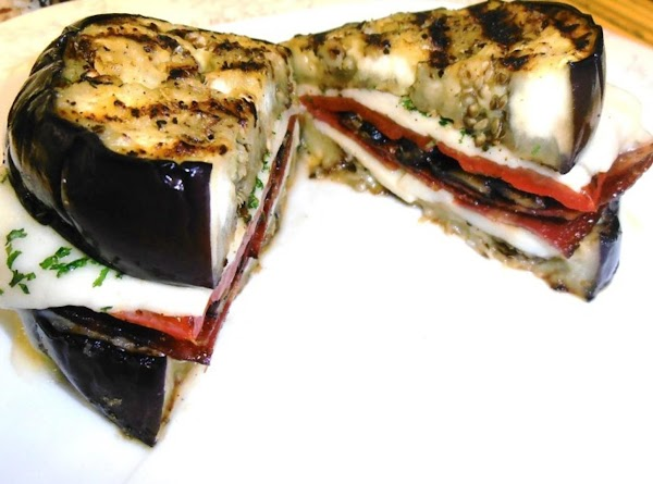 Grilled Eggplant Sandwich Recipe