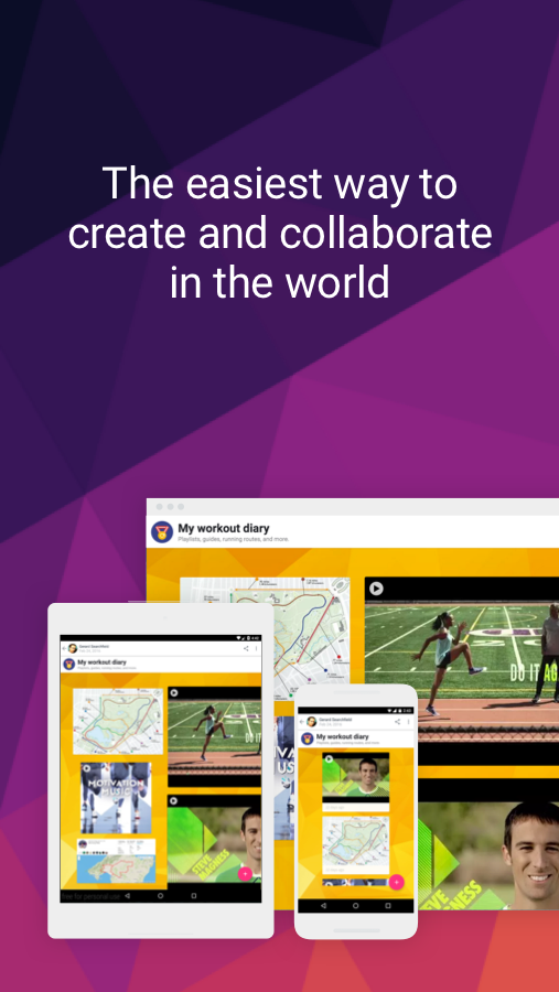 Padlet- screenshot