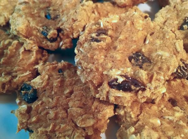 Pumpkin Oatmeal And Raisin Cookies Recipe