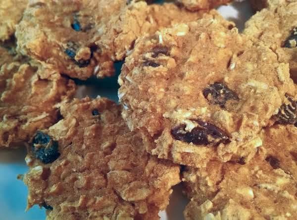 Pumpkin Oatmeal And Raisin Cookies
