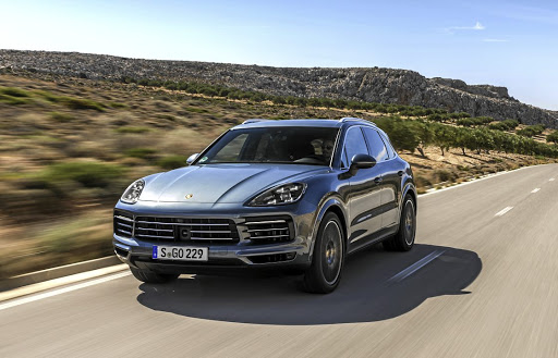 Porsche hasn't chosen to make any radical changes to the design of the latest Cayenne