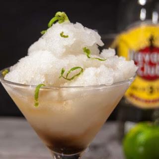 Lime Granita with Rum Recipe
