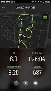 Running Distance Tracker Apps On Google Play - Run calculator map