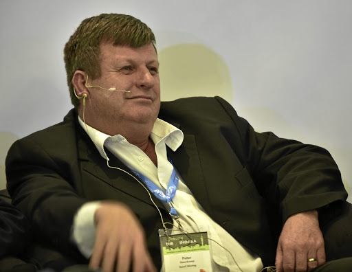 Harmony Gold CEO Peter Steenkamp. Picture: FREDDY MAVUNDA