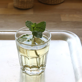 Homemade Mint Syrup.
