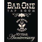 Logo for Bar ONE Beer & Wine Parlour