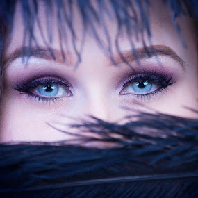 eyes by Alan Payne - People Portraits of Women ( close up, blue, young, sexy, model, female, eyes )