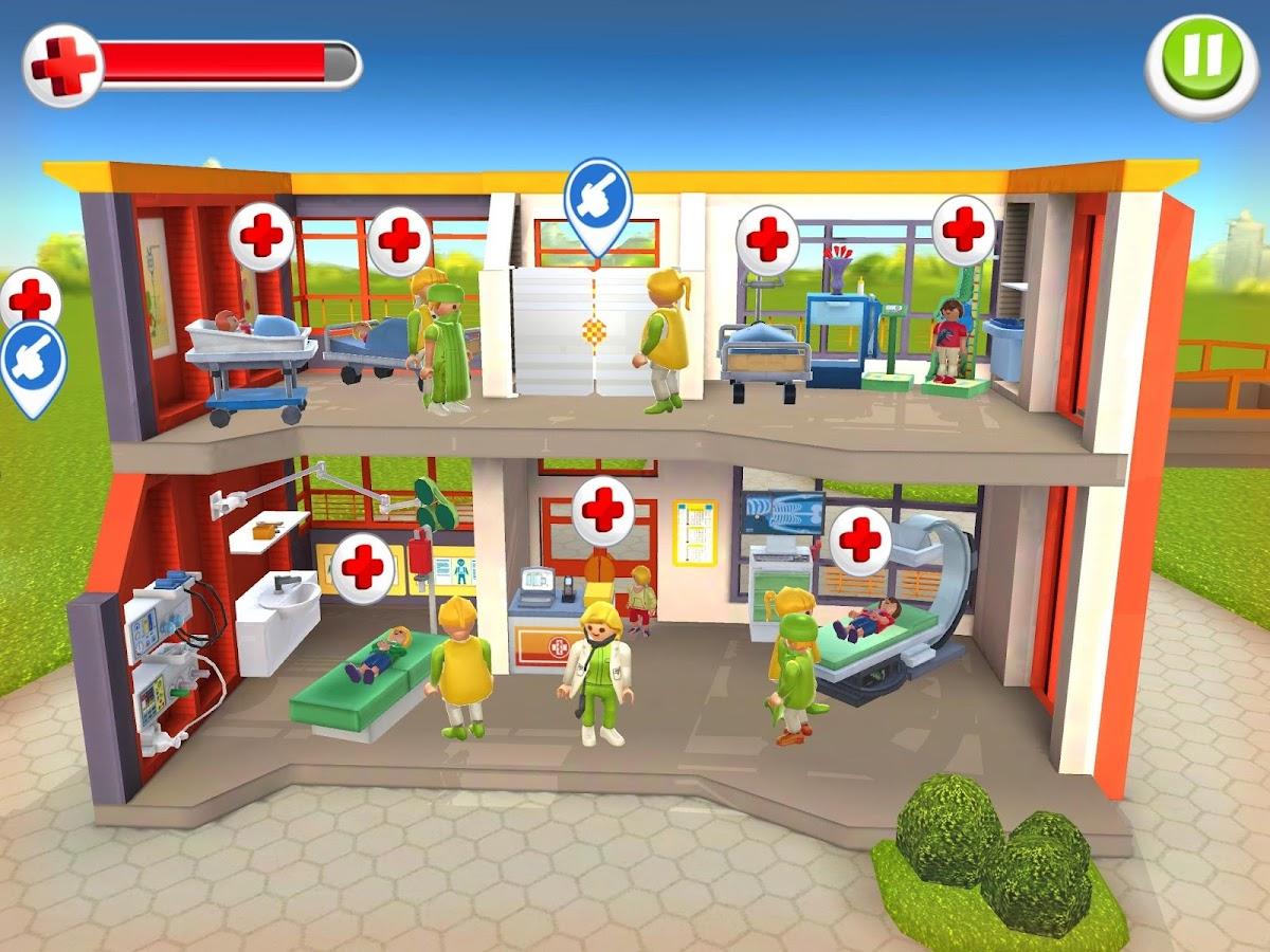 Playmobil hôpital des enfants capture décran