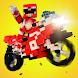 立方体オートバイレース - モーターレースのオートバイの - Androidアプリ